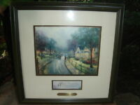 THOMAS KINKADE   -   HOMETOWN MEMORIES    -   $189.00
