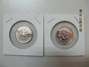 Classic2pc Lot Of.9999 Silver $20CanadianCoins Uncirculated 2015