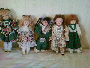Collector`s Edition Porcelain dolls