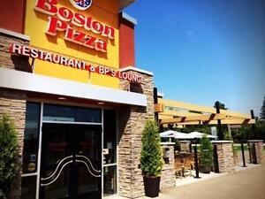 BOSTON PIZZA FRANCHISE FOR SALE - VERMILION, AB.