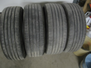 SET OF 4 225/60R17 $60 FOR ALL 4
