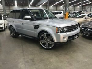 2013 Land Rover Range Rover Sport L320 13MY SDV6 CommandShift Indus Silver 6 Speed Sports Automatic