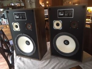 Vintage Avanti Canadian-Made Speakers, Re-foamed