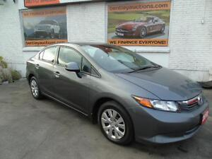 2012 HONDA CIVIC AUTOMATIC,AIR,CRUISE,TILT,POWER WINDOWS LOCKS.