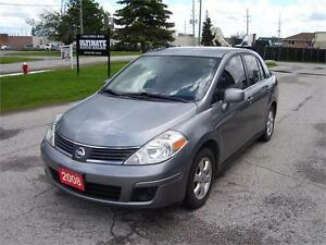 2008 Nissan Versa 1.8 SL with alloy wheels.