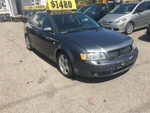 2003 Audi A4 Quattro V6 Winter Package
