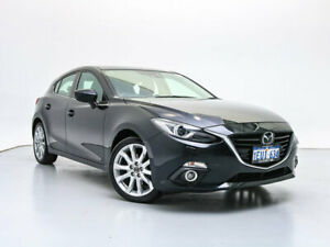 2015 Mazda 3 BM SP25 Astina Black 6 Speed Automatic Hatchback Jandakot Cockburn Area Preview