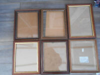 Picture Frames Bundle- Dark Wood