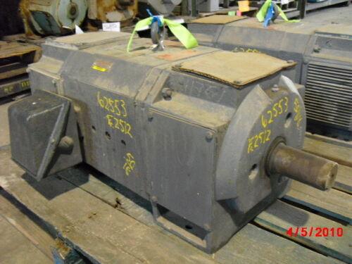 50 Hp Dc Reliance Electric Motor, 1750 Rpm, Mc2512atz Frame, Dpfv, 500 V