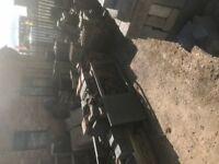 Building materials inc Upvc & composite doors, wall & floor tiles, roof tiles, yard clearance