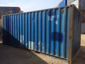 twenty foot shipping container Biggenden North Burnett Area Preview
