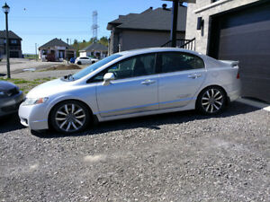 2010 Honda Civic Si Sedan Berline