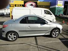 2002 Peugeot 206 Convertible Margate Redcliffe Area Preview