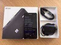 Microsoft Lumia 950 32GB UNLOCKED Black Boxed with Skinomi screen protector