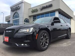 2018 Chrysler 300 S | Leather | Navigation | Sunroof and more...