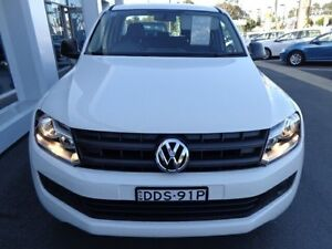 2016 Volkswagen Amarok 2H MY16 TDI400 Core Edition (4x4) Candy White 6 Speed Manual Dual Cab Utility Port Macquarie Port Macquarie City Preview