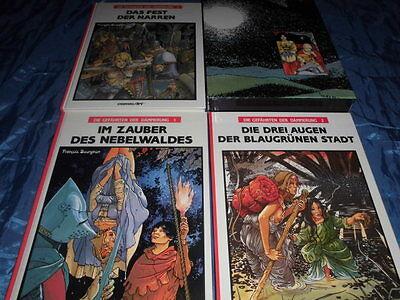 Carlsen Comics , Die Gefährten der Dämmerung , Band 1 - 3 , Album / Comic Art
