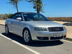 2002 Audi A4 B6 Multitronic Silver 1 Speed Constant Variable Sedan Christies Beach Morphett Vale Area Preview