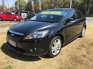 2009 Ford Focus LV TDCi Black 6 Speed Manual Hatchback Clontarf Redcliffe Area Preview