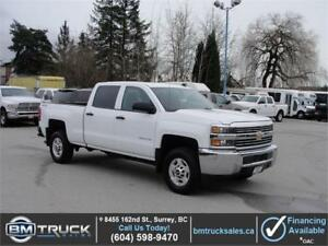 2015 CHEVROLET SILVERADO 2500HD LT CREW CAB SHORT BOX 4X4