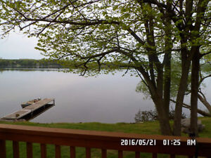 Furnished Lakefront Mobile Home in nearby Kawarthas