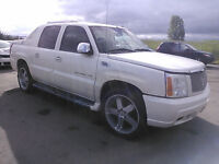 2002 CADILLAC ESCALADE EXT FOR PARTS - PROMISE TO BEAT ANY PRICE