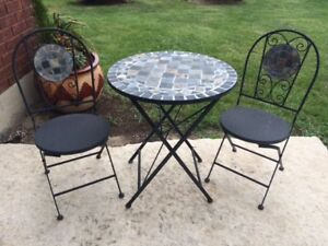 Bistro Table with Chairs