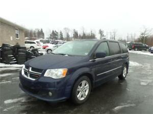 $155 BI WKLY OAC! 2015 Dodge Grand Caravan CREW! HEATED SEATS,