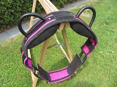 NEU Voltigiergurt  , Gr. Pony  Umfang  1,40-1,70m pink