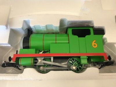 BACHMANN G-Scale 91402 Thomas & Friends Percy Locomotive With Moving Eyes New Engine Moving Eyes