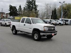 2007 CHEVROLET SILVERADO 2500HD LS EXT CAB SHORT BOX 4X4