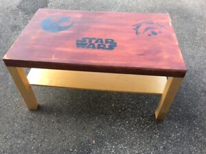 Star Wars Fan Coffee Table Hand Painted