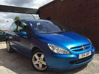 Peugeot 307 2.0 16v XSi 3dr (a/c) COMES WITH PRIVATE PLATE