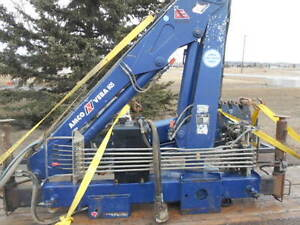 2007 Amco Veba knuckle picker with winch