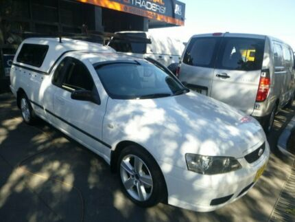 2006 Ford Falcon BF Mk II XL Super Cab White 4 Speed Sports Automatic Cab Chassis Merrylands Parramatta Area Preview