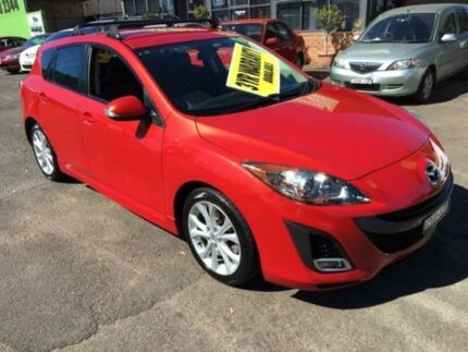 2009 Mazda 3 BL10L1 SP25 Red 5 Speed Automatic Hatchback