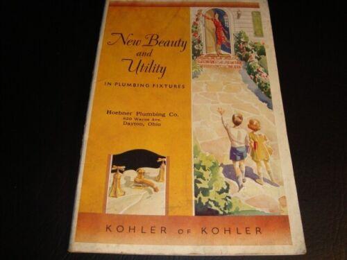 Circa 1930s Kohler Plumbing Supply Catalog