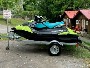 2 2019 SeaDoo Sparks with Trailer for Sale!