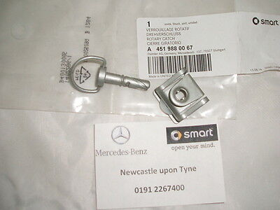 Genuine Smart Fortwo (451) Engine Bay Cover Locking Screw A4519880067 NEW