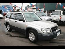 1998 Subaru Forester LIMITED 79V Silver 5 Speed Kingsville Maribyrnong Area Preview