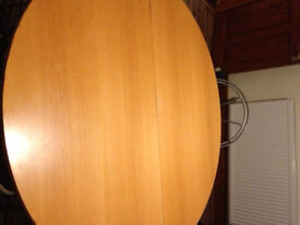 Dining Table Beech Round