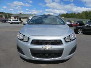 $75 BI WKLY OAC! 2012 Chevrolet Sonic LT LOW LOW MILEAGE!