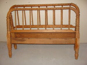 antigue bed frame