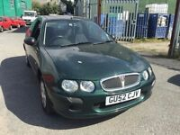 2002 Rover 25, starts and drives, MOT until April 2017, car located in Gravesend Kent, any questions