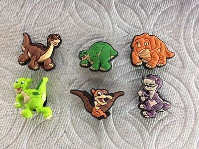 DINOSAUR SHOE CHARMS FIT CROCS LITTLEFOOT SHOE CHARM SHARPTOOTH SPIKE SHOE - Dinosaur Shoe Charm