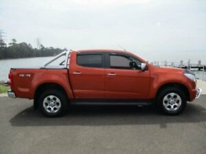 2015 Holden Colorado RG MY15 LTZ (4x4) Orange 6 Speed Manual Crew Cab Pickup Dapto Wollongong Area Preview