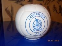 Chesterfield FC Spireites Old Fashioned Football Moneybox