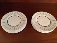 Tea plates, Ridgeway fine English bone china