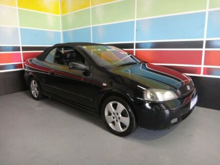 2006 Holden Astra TS MY06 Convertible Black 5 Speed Manual Convertible Wangara Wanneroo Area Preview