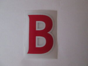 letter-B-Red-Premier-League-EPL-Football-Shirt-name-set-Sporting-ID-Replica-Size